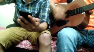 Masih Berdiri-Cover Guitar vocal (Hafizzam&Daniel)