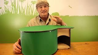 Wildlife World pindsvinehus video