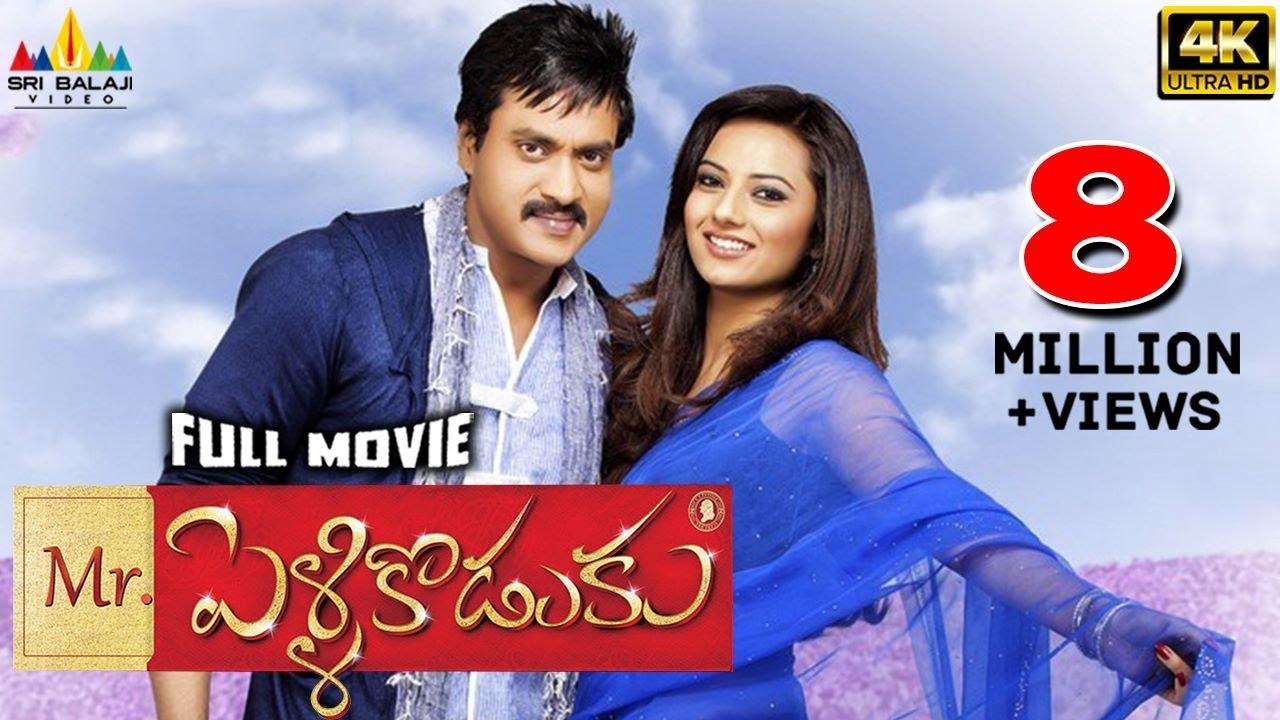 Download Mr.PelliKoduku Telugu Full Movie   Sunil, Isha Chawla   Sri Balaji Video