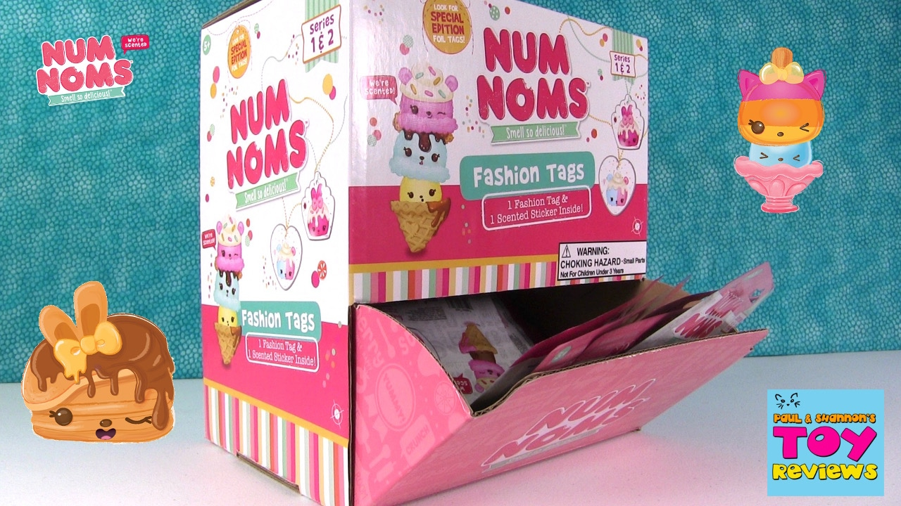 Num Noms Fashion Tags Series 1 Amp 2 Blind Bag Opening