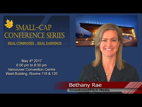 Small Cap Conference in Vancouver BC May 4th, 2017