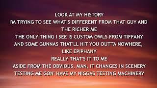 Drake - Omerta (Lyrics)
