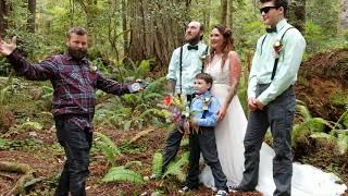 Story time with Sam: Rex and Brook's wedding and the invention of Reverend Sam.