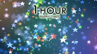 4k Live Wallpaper (60 Minutes) CELEBRATION Stars #AAVFX Holiday Moving Background