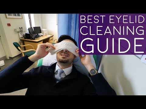 How To Do Warm Compress For Eye | How To Do Eyelid Massage | How To Treat Blepharitis At Home (2018)