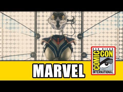MARVEL COMIC CON 2017 Panel - Captain Marvel & Ant-Man And The Wasp Casting