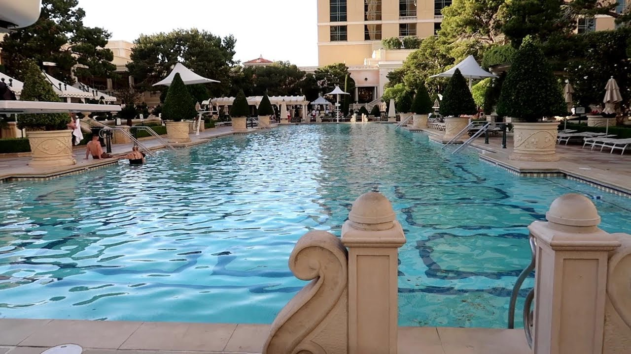 Bellagio Pool Walk About Youtube