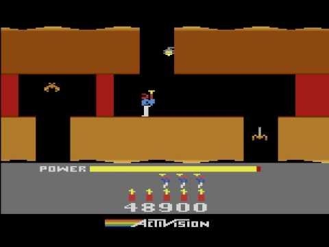 H.E.R.O - Avtivision - Atari 2600 - Gameplay