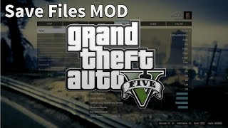 GTA 5 PC Mods - Save Editor 100% Save Game File Downloads