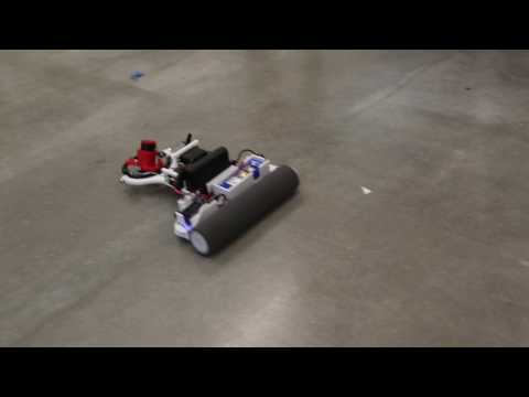 "Gimbal (HOG) drive paint brush roller robot ""Picasso"""