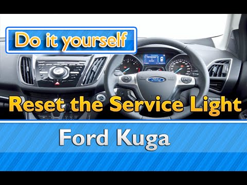 Service Light Reset Ford Kuga Youtube