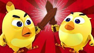 ANGRY BIRDS BATTLE   Tweedledum and Tweedledee   Nursery Rhymes & Baby Songs By All Babies Channel