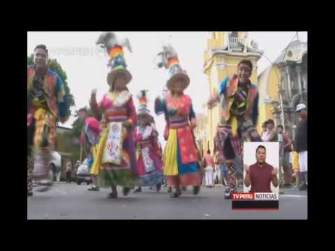 Barranco: celebran carnaval de Pukllay de Andahuaylas