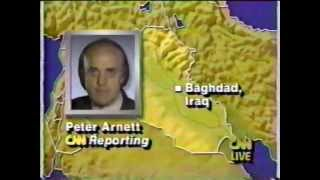 Operation Desert Storm - CNN Live News Coverage - Part 1