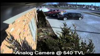 Commercial CCTV Video Security Systems   See the Quality  IP HD Vs  Analog