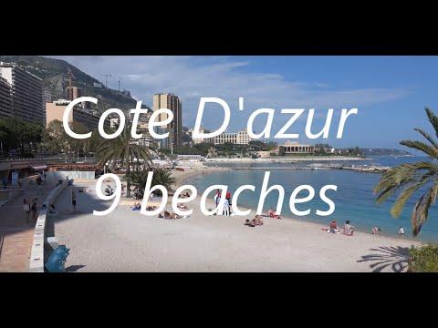 Cote D'azur-9 Beaches To Visit