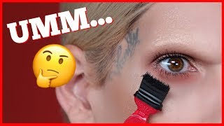 Download WORLD'S WEIRDEST MASCARA?! MY EYES ARE SHOOK! Mp3 and Videos
