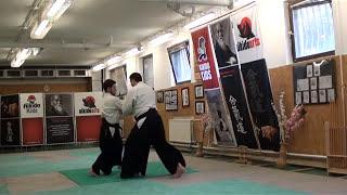 jiju waza – tsuki, katate ryotedori, yokomen uchi [AIKIDO]  basic technique