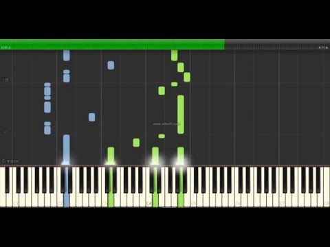 Cliffs of Dover - Eric Johnson - Piano Tutorial - Synthesia