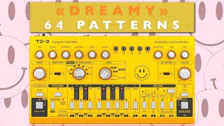Behringer TD-3 - Dreamy Sequences (64 Patterns)