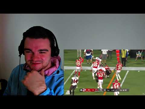 British guy Reacts To – Chiefs vs. Buccaneers   Super Bowl LV Game Highlights