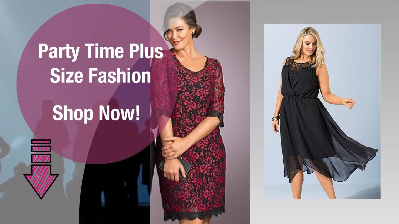 Party Time Plus Size Dresses Online Shopping Australia | Going Out ...