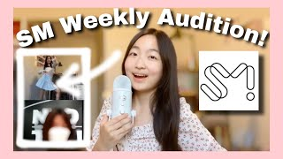 The SM judge LIKED me AGAIN! SM Weekly 1 on 1 zoom AUDITION - Audition Experience + Audition Tips