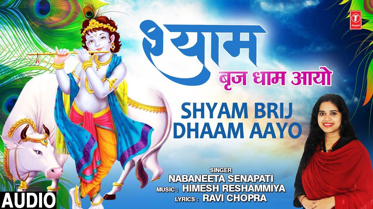 श्याम बृज धाम आयो Shyam Brij Dhaam Aayo I NABANEETA SENAPATI I Krishna Bhajan I Full Audio Song