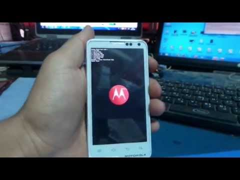 Motorola MOTOLUXE XT615 hard reset