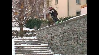 Swiss Street Skiing