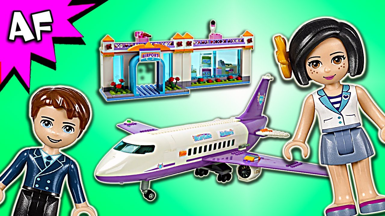 Lego Friends Heartlake City Airport 41109 Speed Build Youtube
