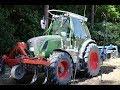 Bodenbearbeitung Im Hopfen Im Frühjahr Mit Frontgrubber Und Kurzscheibenegge