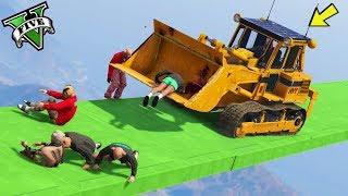 GTA 5 ONLINE 🐷 BULLDOZER VS PARKOUR !!! 🐷 LTS 🐷N*266🐷 GTA 5 ITA 🐷 DAJE !!!!!!!