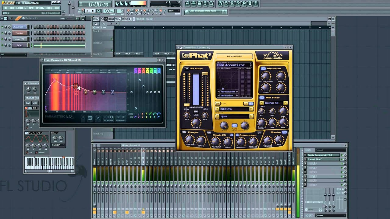 how to make your own kicks in fl studio