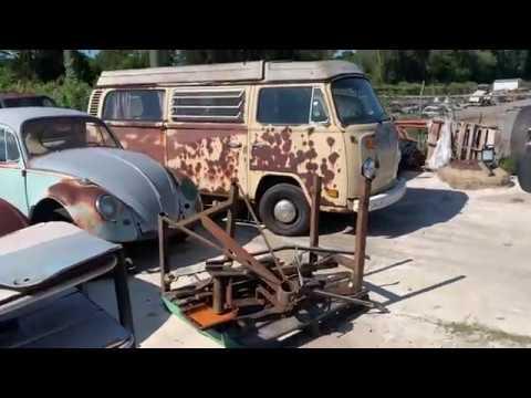 Huge Volkswagen Graveyard Explored!!!!!