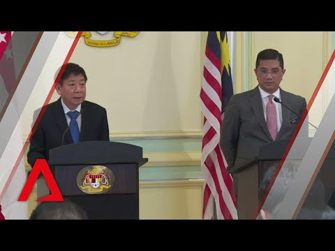 Malaysia to pay Singapore S$15m for suspending HSR project | Full press conference