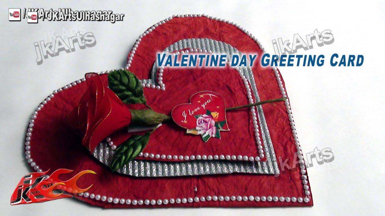 Valentines Day Greeting Cards – How to Make Valentine Greeting Card