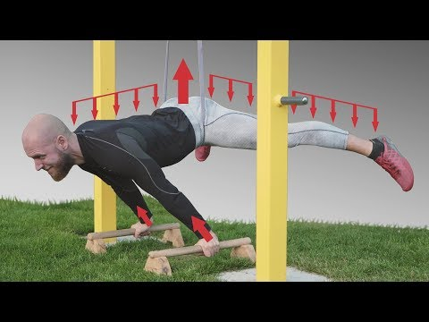 Mechanics of Calisthenics - Which Muscles You Use in Front Lever, Planche, Human Flag