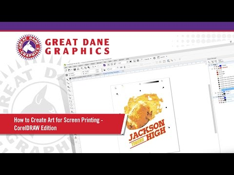 How to Create Art for Screen Printing - CorelDRAW Edition