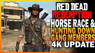 Horse Race And Hunting Down Criminals! Red Dead Redemption 4k Gameplay Part 2 [RDR]