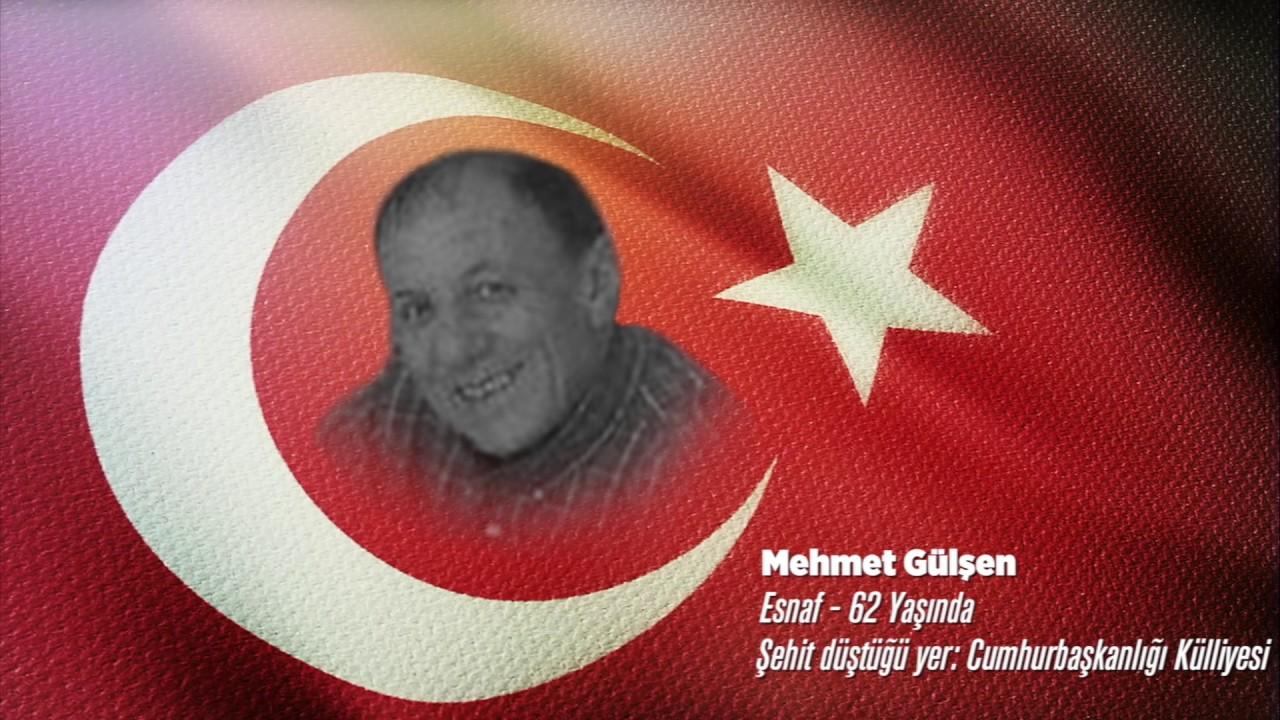 15 Temmuz Şehidi Mehmet Gülşen