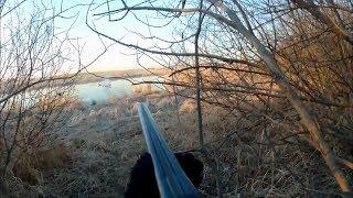 Весенняя охота на селезня с подсадной уткой. Видео отчет.
