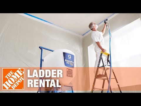 The home depot tool rental center ladders youtube - Renter s wallpaper home depot ...