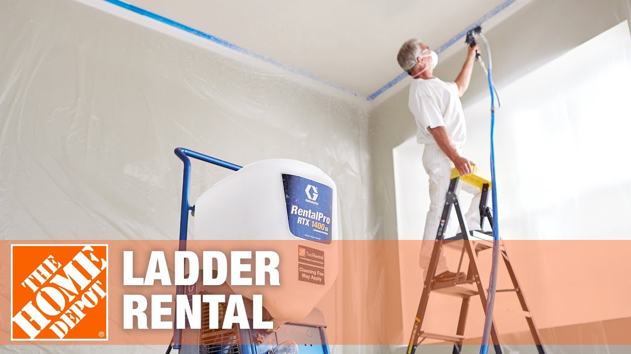 Ladder Rental The Home Depot Youtube