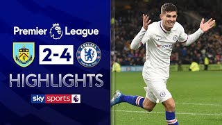 Christian Pulisic hits hat-trick in thriller 💥 | Burnley 2-4 Chelsea | Premier League Highlights