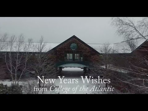Happy New Year from College of the Atlantic