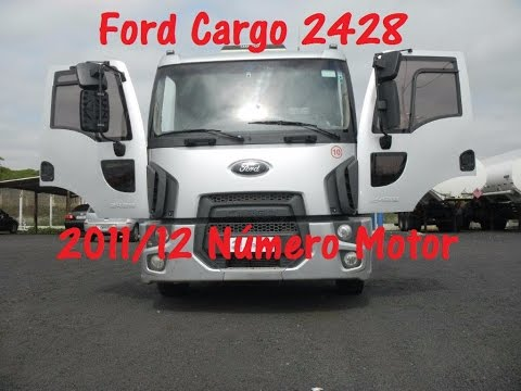 Ford Cargo 2428 2011-12 Número motor