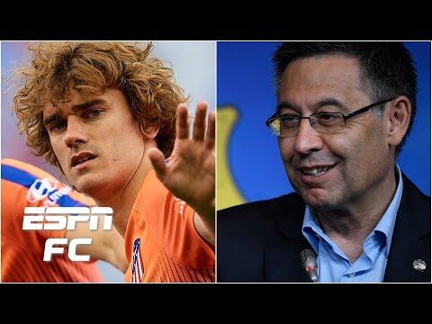 Antoine Griezmann's Barcelona soap opera continues & Atletico Madrid aren't happy | La Liga