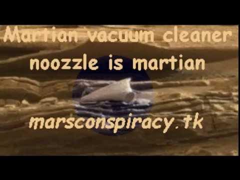 Vacuum cleaner noozle on Mars