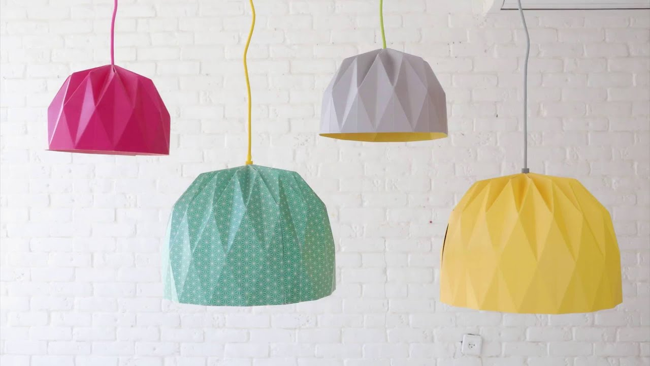 How to fold a large origami lampshade youtube how to fold a large origami lampshade aloadofball